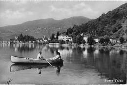 PONTE TRESA → Ristorante-Pensione Ceresio, Bella Cartolina Ca.1950 - TI Tessin
