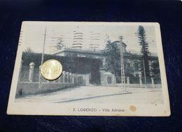 PA503 SICILIA PALERMO SAN LORENZO VILLA ADRIANA 1931 Viaggiata - Palermo