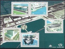 Portugal 1998: EXPO'98 OCEANOS (Pavillons De L'EXPO) Yvert BF 141 ** MNH - Expositions Universelles