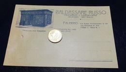 PA507 SICILIA PALERMO Pubblicitaria Profumeria RUSSO 1922 Non Viaggiata - Palermo