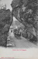 VAL BREGAGLIA → Strada Con Diligenza, Bella Cartolina E Raramente, Ca.1910 - TI Tessin