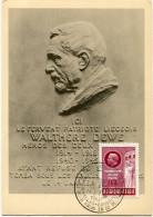 BELGIQUE CARTE MAXIMUM DU N°908 AU PROFIT DU MONUMENT ELEVE A LA MEMOIRE DU POSTIER WATLHERE DEWE HEROS DE LA RESISTANCE - Maximum Cards