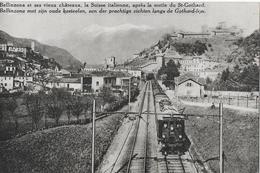 BELLINZONA → Ferroviaria Del Gottardo, Bella Cartolina, Ca.1910 - TI Tessin