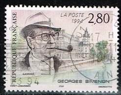 Frankreich 1994, Michel# 3055 O Georges Simenon (1903-1989) - Frankreich