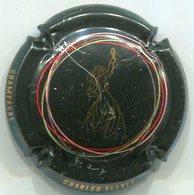 CAPSULE-CHAMPAGNE ELLNER Charles N°17a Noir, Cercles Vert & Rouge - Autres