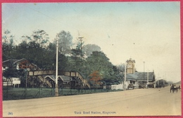 Tank Road Station, (Railway), Singapore 1900's (UNC)_n°(30) Otkpbitoe_S'pore-CPA Old Collection-Singapore - Singapore