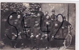 ORLEANS      CARTE PHOTO  OFFICIERS ET  PERSONNEL  DU BUREAU DE RECRUTEMENT . PHOTO LECONTE  ORLEANS - Orleans