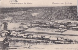 MOYEUVRE SOUS LA NEIGE - France