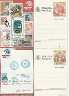 1984 España. Entero Post. Exp. Mundial España'84 (Edif.135/36)**  2v - Enteros Postales