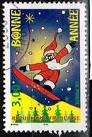 Frankreich 1998, Michel# 3343 O Happy New Year - Greetings - Gebraucht