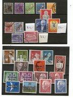 Lot ältere West-Berlin Postfrisch - Gestempelt - Stamps