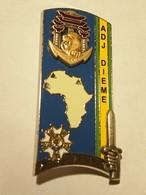 INSIGNE ADJ DIEME  N° G 4871 225° PROMOTION ENSOA - Armée De Terre