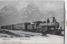 GOTTHARD-EXPRESS → Con 12 Foto Dal Ticino, Ca.1900   ►molto Raramente Offerto◄ - TI Tessin
