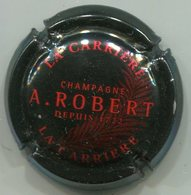 CAPSULE-CHAMPAGNE ROBERT A. N°04-4 La Carriere Noir & Rouge - Autres