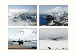 1 AK Island Jan Mayen Zu Norwegen * Norwegian Air Force Flugzeug C-130 - Landschaften Wie Der Vulkan Beerenberg - Norwegen
