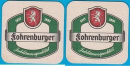Fohrenburger Spezialbier Bludenz ( Bd 2094 ) Österreich - Bierdeckel