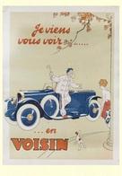 Car Automobile Postcard Voisin 1908 - Reproduction - Pubblicitari