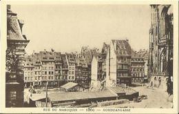 "CPA "" LE STRASBOURG DISPARU N°59 "" - Rue Du Maroquin - 1860. - Strasbourg"