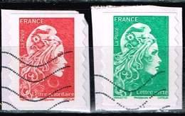 Frankreich 2018, Michel# 6915 - 6916 A O Marianne  L'Engagée - 2018-... Marianne L'Engagée