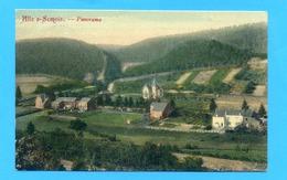 PK/CP  1908 :  Alle S-Semois. - Panorama.. Met STERstempel ALLE 1908. - Vresse-sur-Semois