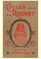 Cycle Postcard Rochet 1910 - Reproduction - Pubblicitari