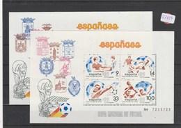 Spanien     Postfrisch **      MiNr. Block 25-26 - Spanien