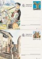 1991 España. Entero Postales Turismo (Edif.151/152)**  2v - Enteros Postales