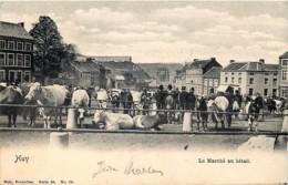 Huy - Le Marché Au Bétail - Nels Série 55 N° 79 - Hoei