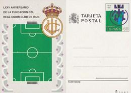 1991 España. Entero Postales Fútbol (Edif.153)** 1v - Enteros Postales