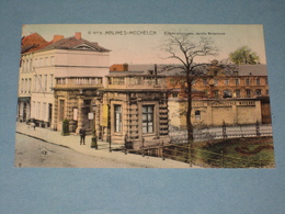 (K444) MECHELEN - Entrée Principale Atheneum, Jardin Botanique - Uitg. Spanoghe N°5 - Malines