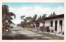 SEBRING FLORIDA LAKEBREEZE COURT MOTEL-REX BEACH LAKE POSTCARD 35501 - United States