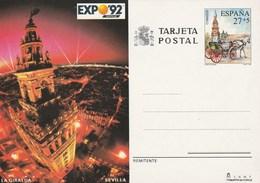 1992 España. Entero Postales Expo'92 (Edif.154)**  1v - Enteros Postales