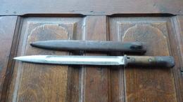 Rare Baionnette Allemande Ww1 S14 Fabricant Odeon - 1914-18