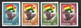 Serie Nº 262/5 Sin Dentar Ghana - Águilas & Aves De Presa