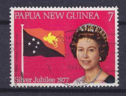 Papua New Guinea 1977 Mi. 321  7 T Silver Jubilee Of Queen Elizabeth II Flag - Papouasie-Nouvelle-Guinée