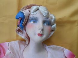 Poupée - Ancienne Poupée De Salon 70 Cms - - Dolls