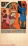 Belgique - Art Nouveau - 75eme Anniversaire De L' Indépendance Nationale - Belgique