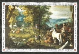2003 ORDINE DI MALTA SMOM   Animali Animals Serie Completa Usata FDC Bellissima - Malte (Ordre De)
