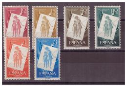 SPAGNA - 1956 - PRO INFANZIA UNGHERESE SERIE COMPLETA CON DIFETTI. - MNH** - 1931-Oggi: 2. Rep. - ... Juan Carlos I
