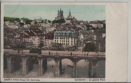 Lausanne - Le Grand Pont - VD Waadt