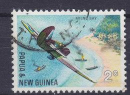 Papua New Guinea 1967 Mi. 119  2c. Milne Bay Start Of WWII Japanische Landeinheiten Unter Flugzeugbeschuss - Papouasie-Nouvelle-Guinée