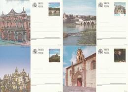 1997 España. Entero Postales Turismo (Edif.163/166)**  4v - Enteros Postales