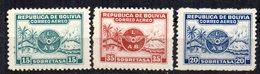 Serie Nº A-1/3 Bolivia - Bolivia
