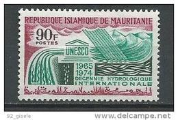 """Mauritanie YT 252 """" Hydrologie """" 1968 Neuf** - Mauritania (1960-...)"""