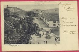 Singapore TANJONG PAGAR Main Road 1902 (TTB-TB) - S'pore-cpa Old_Collection-Singapore - Singapore