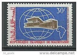 """Mauritanie YT 251 """" Union Postale """" 1968 Neuf** - Mauritanie (1960-...)"""