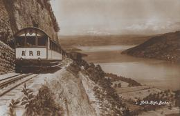 ARTH-RIGI-BAHN → Bahn In Der Kräbelwand, Super Fotokarte Ca.1930 - SZ Schwyz