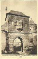 "CPA "" LE STRASBOURG DISPARU N°102 "" - Porte Nationale Extérieure - 1865. - Strasbourg"