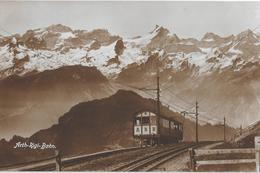 ARTH-RIGI-BAHN → Partie Rigi Kulm, Fotokarte Ca.1930 - SZ Schwyz
