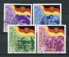 DDR Nr.2458/61          O  Used       (21774) ( Jahr: 1979 ) - DDR